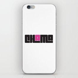 Chama iPhone Skin