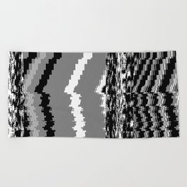 noisy pattern 06 Beach Towel