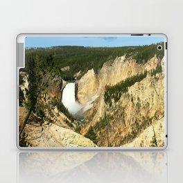 Majestic Yellowstone Upper Falls Laptop & iPad Skin