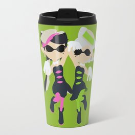Callie & Marie (Green) - Splatoon Travel Mug