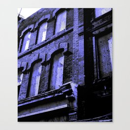Blue Gentrification Canvas Print