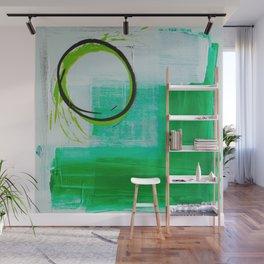 Green O Wall Mural