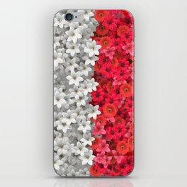 Boundary Flowers iPhone Skin