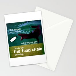 food chain 7 Stationery Cards