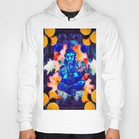 ganesh Hoodies featuring ganesh by CandiCollage