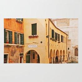 A Venetian View - Sotoportego de le Colonete - Italy Rug