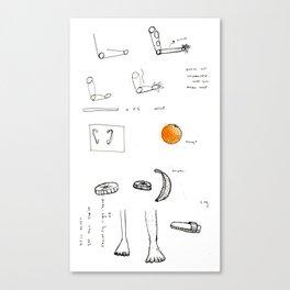 not unwanted orange Canvas Print