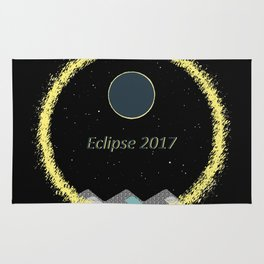Total Eclipse Rings Rug
