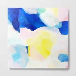 Summer brights abstract 2 Metal Print