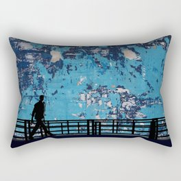 ABSTRACT WALK Rectangular Pillow