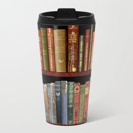 Antique books ft Jane Austen & more Travel Mug