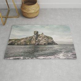 Irish rocks landscape Rug