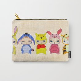 A Boy - Winnie and friends Carry-All Pouch