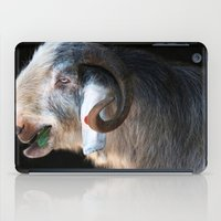 ram iPad Cases featuring Ram by Veronika