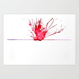 My Schizophrenia (6) Art Print