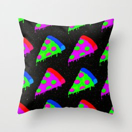 Pizza Invasion Throw Pillow