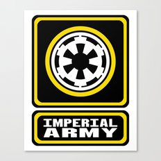 Imperial Army Canvas Print
