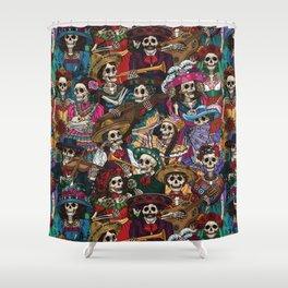 Dia De los Muertos Shower Curtain