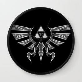 The Legendary Crest Wall Clock