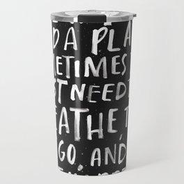 Breathe and Let Go Travel Mug