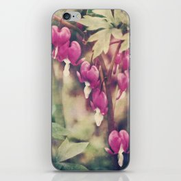 Dancing Bleeding Hearts iPhone Skin
