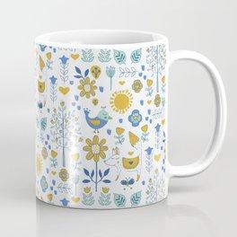 Folky Fox and Friend Coffee Mug