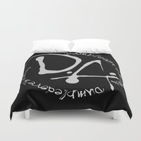 army Duvet Covers featuring Dumbledore's Army by Chrispix