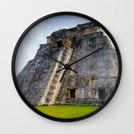 Uxmal Yucatan Mexico Wall Clock