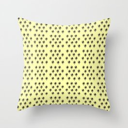 Stars 19- sky,light,rays,pointed,hope,estrella,mystical,spangled,gentle. Throw Pillow