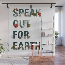 Speak Out for Earth! (Oceans) Wall Mural