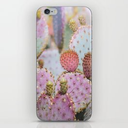 Cotton Candy Cacti iPhone Skin