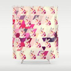 Bunny Pattern Shower Curtain