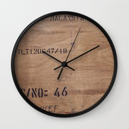 Plywood Wall Clock