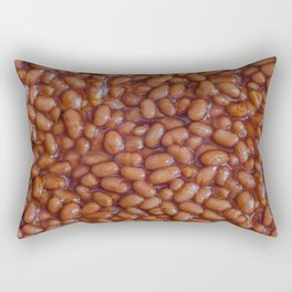 Baked Beans Pattern Rectangular Pillow