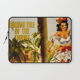 Cuba Holiday Isle of the Tropics Laptop Sleeve