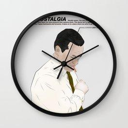 Draper Nostalgia Wall Clock