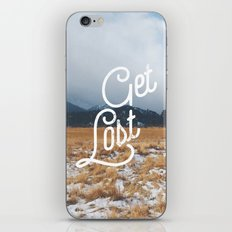 Get Lost iPhone & iPod Skin