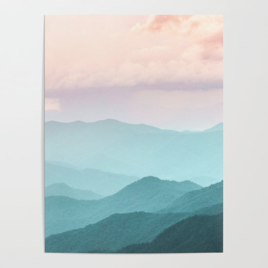 Smoky Mountain National Park Sunset Layers II - Nature Photography by cascadia