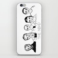 cactei iPhone & iPod Skins featuring The NBHD by ☿ cactei ☿