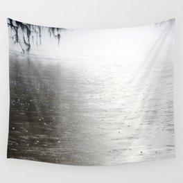Rain On The Flint Wall Tapestry