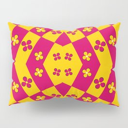 Geometric inflorescence Pillow Sham