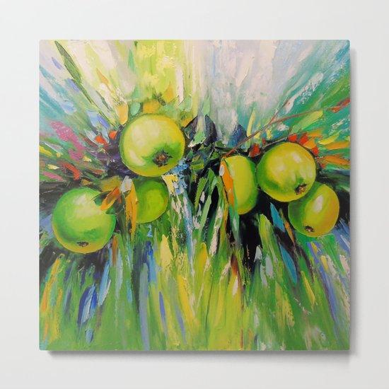 Juicy apples Metal Print