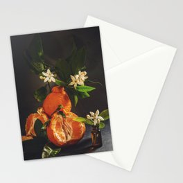 Still life with citrus blossom Stationery Cards