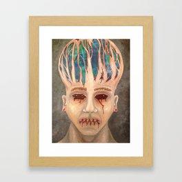 Mind Trapped Framed Art Print