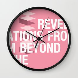 IGNS poster design Wall Clock