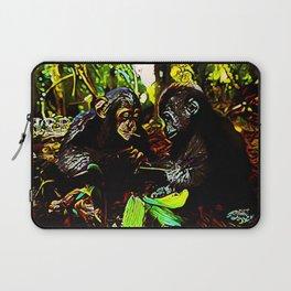 Chimp & Gorilla Cooperation 01-02 Laptop Sleeve