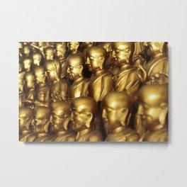 1000 Buddhas Metal Print