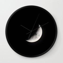 Crescent Moon Wall Clock