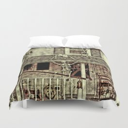 Don't Open The Window! Duvet Cover
