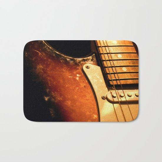 eletric guitar Bath Mat